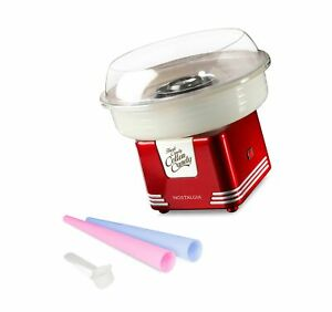 Nostalgia Pcm405retrored Hard And Sugar Free Countertop Cotton Candy Maker I