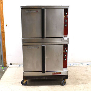 Blodgett Mark V 111 1 deck Roll in Full Size Double Electric Convection Oven