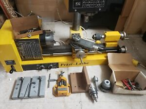 Lathe And Mill Combo With Accessories Runs Smooth Made In Germany