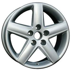 58749 17x7 5 New Replacement Alloy Wheel Silver Fits 2002 2010 Audi A4