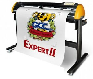 Gcc Expert Ii 52 Lx Vinyl Cutter For Sign And Htv 52 New Condition