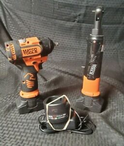 Matco Tools Mcl1614r And Mcl1638hpw With 2 Batteries And Charger