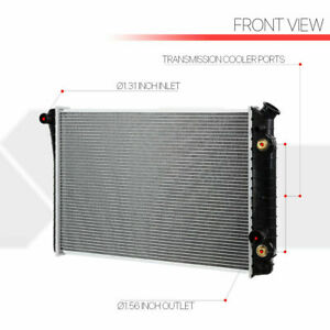 Aluminum Core Radiator Oe Replacement 82 92 Chevy Camaro Firebird At Dpi 951