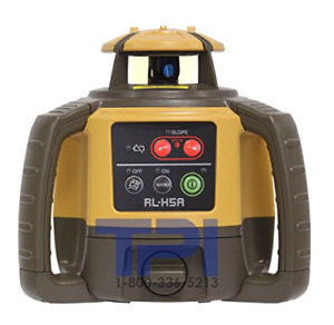 Topcon Rl h5a Horizontal Self leveling Rotary Laser With Ls 80l Receiver Dry