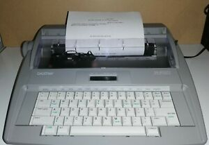Brother Sx 4000 Portable Electronic Lcd Display Typewriter W Dictionary Tested