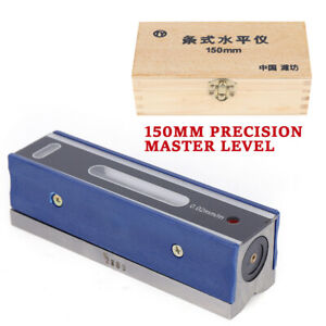 6 150mm Precision Bar Level Engineers Machinist For Machinist Tool 0 02mm m Ca