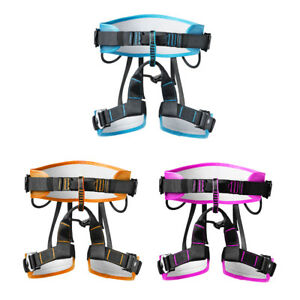 Outdoor Rock Climbing Tree Rappelling Harness Seat Safety Sitting Bust Belts