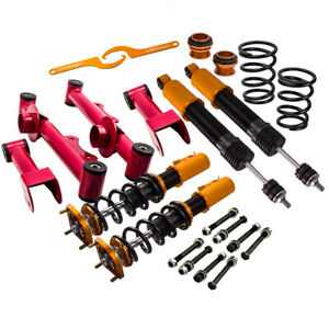 4x Coilovers Suspension Kits For Ford Mustang 4th 94 04 Adj Height control Arm