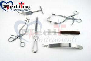 Orthopedic Surgical 7 Pcs Instruments Set By Mti