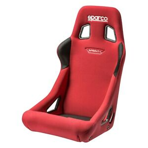 Sparco 008234lrs Sprint l Series Racing Seat Red Fabric