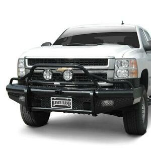For Chevy Silverado 3500 Hd 07 10 Bumper Legend Bullnose Series Full Width Black