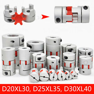 D20l25 d30l40 Flexible Shaft Coupling For Cnc Motor Coupler Connector 5mm To16mm