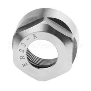 Er20 Clamping Nut A Model Cnc Milling Collet Chuck Holder Lathe Supplies Steel