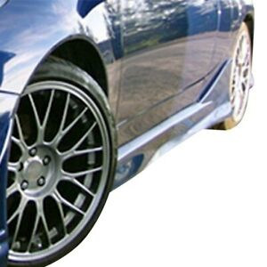 For Toyota Celica 00 05 Ait Racing Vs gt Style Fiberglass Side Skirts Unpainted