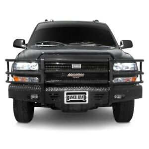 For Chevy Silverado 1500 99 02 Bumper Summit Series Full Width Tough Black