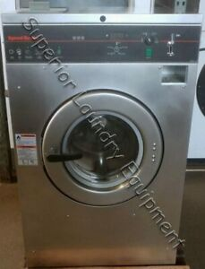 Speed Queen Scn030gy2 Washer extractor 30lb 220v 1 3ph Coin Reconditioned
