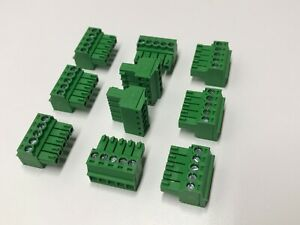 Phoenix Contact Phoenix Connector Pcb Terminal Block 5 Pin 3 5mm Lot Of 10