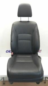 13 14 Honda Accord Oem Driver Left Front Bucket Seat Black Leather