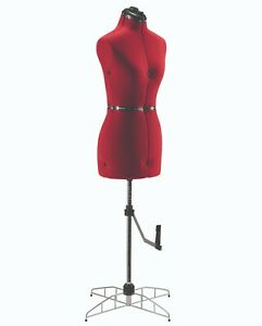 Singer 252 Adjustable Dress Form Large To X Large Model