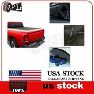 Short Tonneau Bed Cover Fits For 2019 2020 Ford Ranger 5ft Soft Roll Up Vinyl