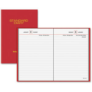 At a glance Standard Diary Daily Reminder Notebooks