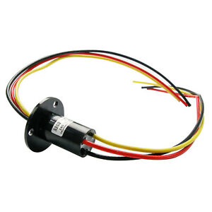 New Slip Ring 3 Wire 90 Amp 30 Amp Per Conductor Wire 22mm