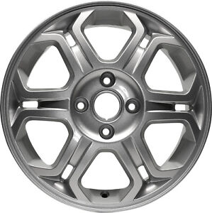 03704 New Compatible 16 Inch Aluminum Wheel Fits Ford Focus 2008 2011 Silver
