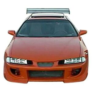 For Honda Prelude 1992 1996 Kbd Blits Style Front Bumper Unpainted