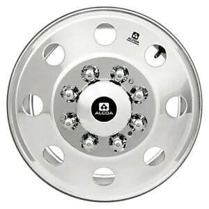 For Ford F 350 87 97 Alcoa 160282 Hub Piloted Polished Inside Only 16x6 Wheel