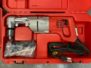 Milwaukee 3107 6 Corded Right Angle 1 2 Drill 1107 1 W Side Handle