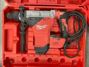 Milwaukee 5546 21 15a 1 3 4 Sds Max Rotary Hammer Used W Case
