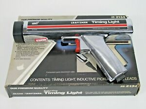 Sears Craftsman Timing Light 28 2134 Untested With Box No Cables