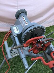Ridgid 300 T 2 Power Head Threader W carriage cutter die Head And Reamer