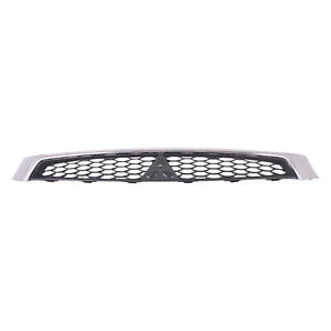 Mi1200267 New Replacement Front Grille Fits 2009 2015 Mitsubishi Lancer