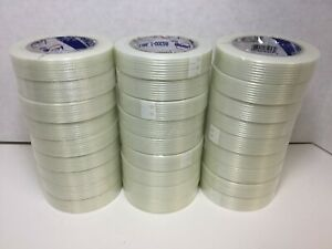 Intertape Strapping filament Packing Tape Clear 1 X 60 Yds 27 Rolls Rg3001