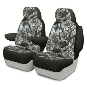 For Toyota Pickup 89 94 Camo 1st Row Superflauge Snow Custom Seat Covers