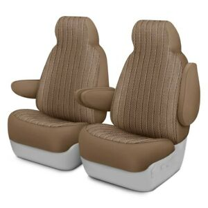 For Toyota Pickup 89 94 Dash Designs Scottsdale 1st Row Toast Custom Seat Covers