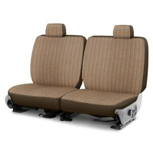 For Toyota Pickup 89 94 Duramax Tweed 2nd Row Brown Custom Seat Cover