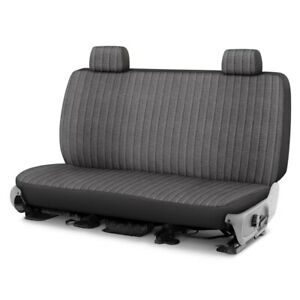 For Toyota Pickup 86 94 Duramax Tweed 1st Row Charcoal Custom Seat Cover