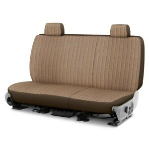 For Toyota Pickup 89 94 Duramax Tweed 1st Row Brown Custom Seat Cover