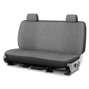 For Toyota Pickup 86 94 Duramax Tweed 1st Row Gray Custom Seat Cover