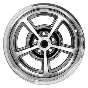 For Ford Mustang 65 73 Dynacorn Fw177c Magnum Style Polished 17x7 Alloy Wheel