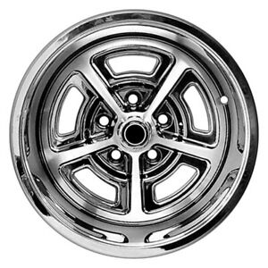 For Ford Mustang 65 73 Dynacorn Fw158c Magnum Style Polished 15x8 Alloy Wheel