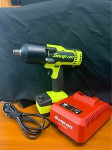 Snap On Impact Drill 1 2 Drive Cordless 18v With Battery And Charger Ct8850hv