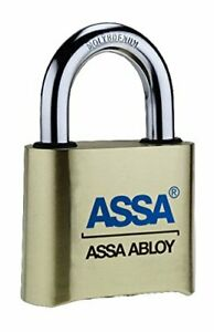 Assa Abloy Srb36 Commercial Combination Brass Padlock Weather Resistant
