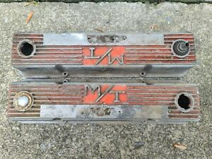 Vintage Mickey Thompson Valve Covers M T Small Block Chevy 283 327 350 3276000