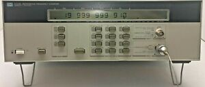 Hp agilent 5350b Microwave Freq Counter 10hz 20 Ghz Oven Time Base