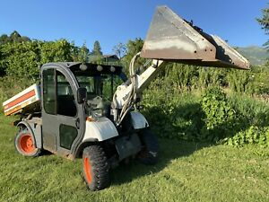 2004 Bobcat 5600 Toolcat 1300 Hrs Aws Diesel Loader Like Kubota Cat Heat ac Cab