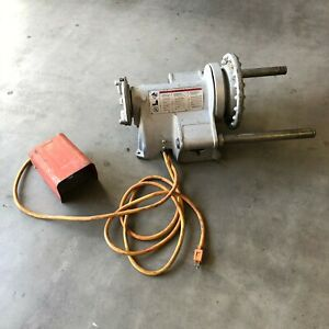 Ridgid 300 T2 Pipe Threader Power Head T 2 With Foot Pedal