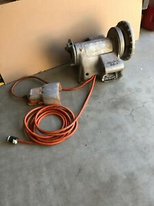 Ridgid 300 Pipe Threader Power Head With Foot Pedal Nice Tight Machine